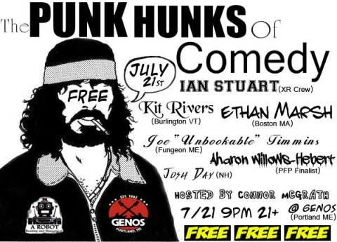 Punk Hunks of Comedy Show